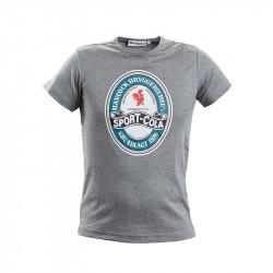 Sport-Cola T-shirt, grå - Voksen