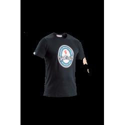 Sport-Cola T-shirt, sort - Voksen