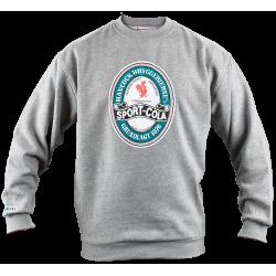 Sport-Cola sweatshirt, grå - Voksen