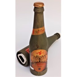 Oplukker som flaske i træ - Black Lager